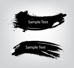 Vector Brush  sample text design