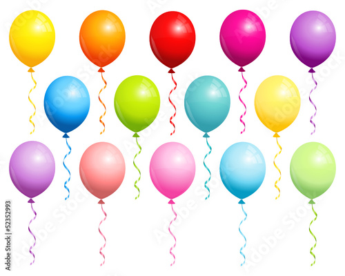 14 Balloons Colors