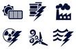 Power and Energy Icons