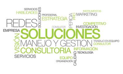 Soluciones redes manejo y gestión consultoría nube de etiquetas