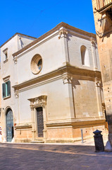 Church of St. Elisabetta. Lecce. Puglia. Italy.