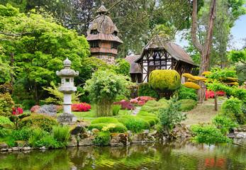 jardin de Maulévrier
