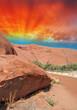 Fototapeten,rot,australien,wüste,bunt
