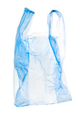 plastic bag with clipping path