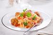 Italian Pasta With Meatballs
