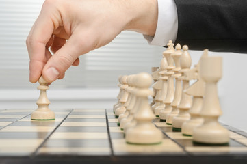 Chess, first move