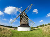 pitstone windmill countryside hertfordshire poster