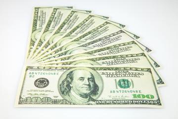abanico de billetes