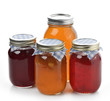 Homemade Marmalade,Jam And Honey