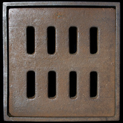 Metal Manhole