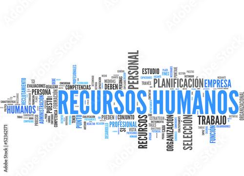 Recursos humanos (tag cloud español)