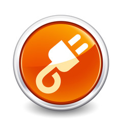 button orange plug