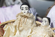 old china pierrot dolls for collection