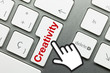 Creativity Keyboard Hand