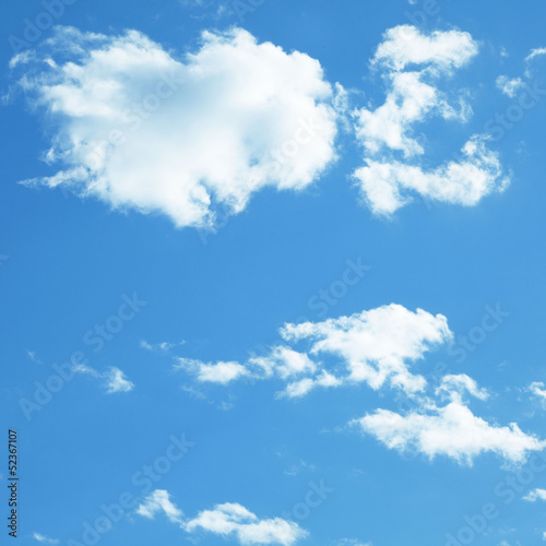 canvas print picture Blauer Himmel