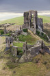 Corfe Castle in Dorset.