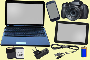 Isolated devices and IT equipment