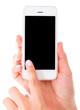 Using an app on smart phone