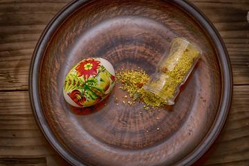 Разукрашенное яйцо к празднику