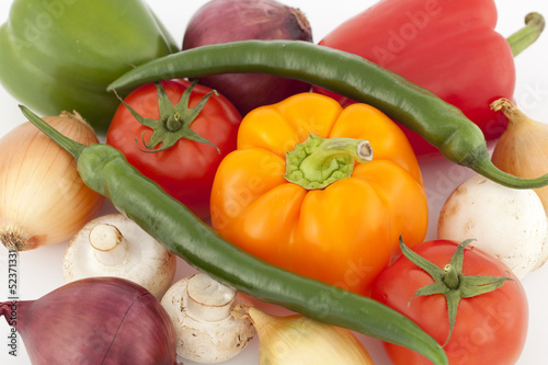 Colorful vegetable
