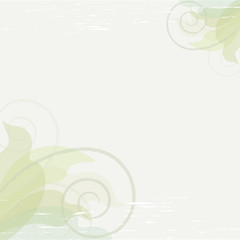 Pastel green summer vector background
