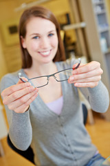 Brille anpassen beim Optiker