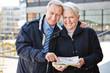 Senioren auf Städtereise