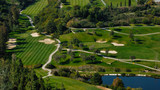 Golf course in Marbella, Andalusia, Spain