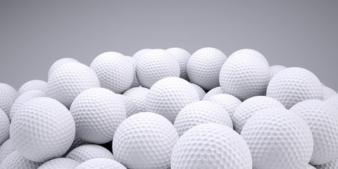Background is out of golf balls