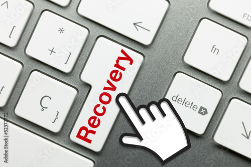 Recovery keyboard Hand