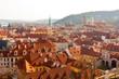 view on Prague city