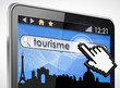 tablette tactile 3d : visites tourisme
