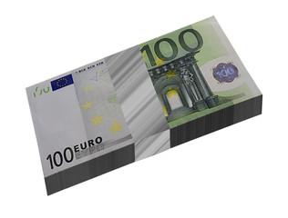 Mazzetta banconote euro