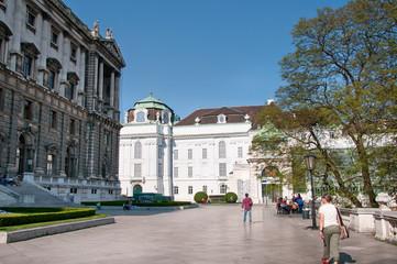 Hofburg in Vienna (Austria) | Neue Burg (New Castle)