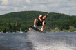 men wakeboarding