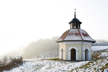 Sanctuary of Kalwaria Zebrzydowska Way of cross station chapel