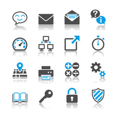 Application icons - reflection theme