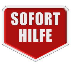 Marker rot SOFORT HILFE