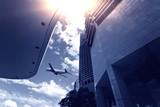 Brisbane, modern urban architecture poster