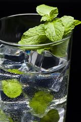 Green Mojito cocktail