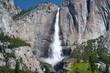 magnificent yosemite fallls, yosemite nat park, california, usa