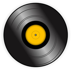 Vinyl record - vector illustration