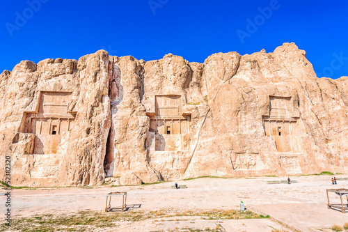 Tomb of Achaemenid kings in Naqsh-e Rustam, north Shiraz, Iran.