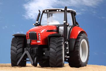 roter Traktor 2