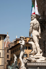 Florence- statues in front of palazzo vecchio