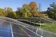 Solarpark bei Homberg (Effze) in Hessen.