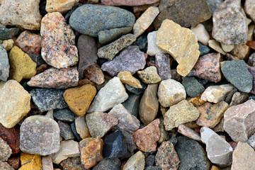 Natural gravel background