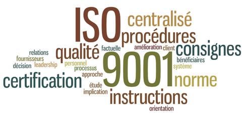 Nuage de Mots : ISO 9001
