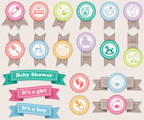 Ribbons about babies