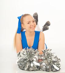 pretty  young cheerleader